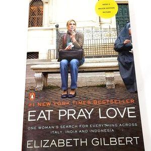 Eat Pray Love book by Elizabeth Gilbert